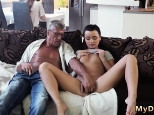 cute girl first time anal