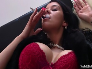 asian smoking videos