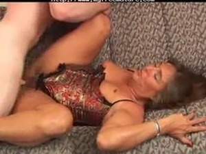 sexy granny anal gagging
