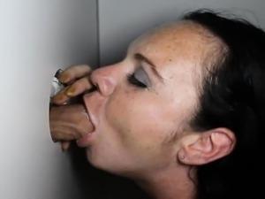 free oral video glory hole