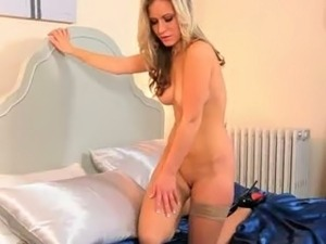 The hot couple sex scene at bedroom