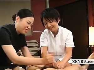 japanese massage orgasm three women