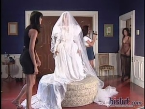 dick girl bride