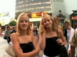 young naked twins girls