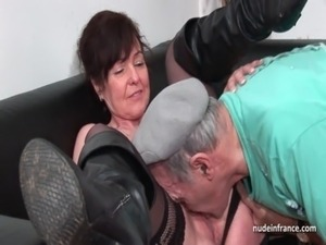 free videos of french mature women