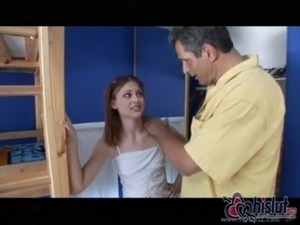 xxx couple and teen babysitter