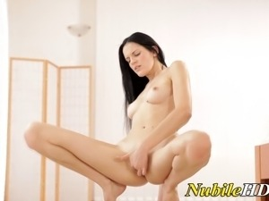 real solo female orgasm video