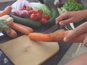 vegetable in pussy video