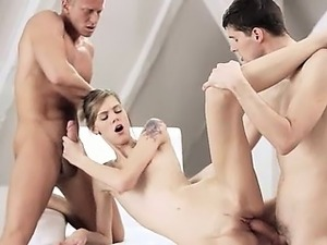 Exquisite adorable wowporn threesome FMM