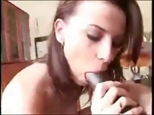 huge black cock for her ass
