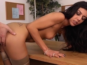 office sex mature