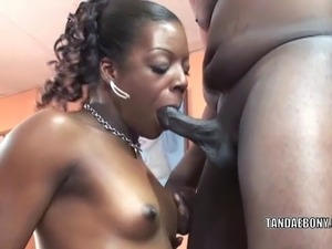 teasing wife blowjob