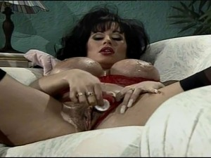 Brunette busty older bitch anally banged and got jizzed all over her amazing...