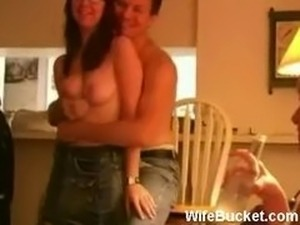 big wife first swinger party