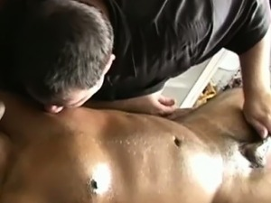 Straight black amateur gets cock tugged