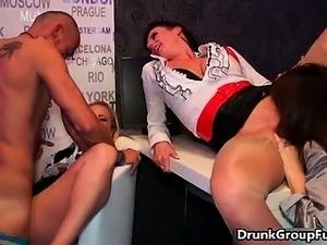 black drunk girl fucked