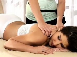 Lesbian orgasm massage