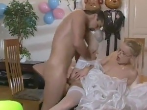 Nude bride video