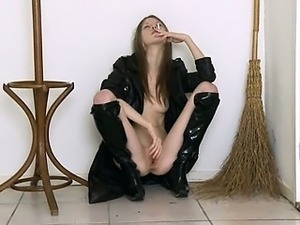leather boot sex video