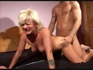 ssexy blonde fucked