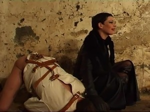 girls tied up in leather galleries