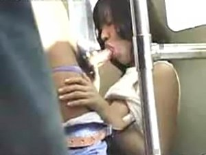 Sex scene in train