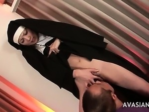 free nun ass to mouth video