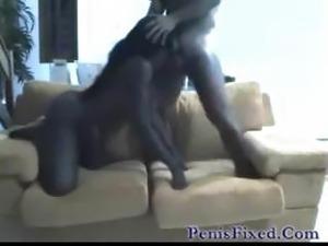 skinny ebony anal
