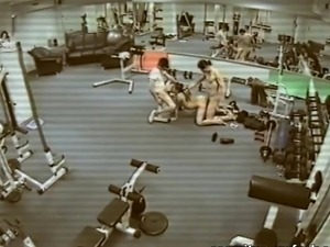 Nude girls gym