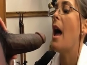 White milf sucking big black cock free