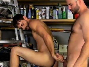 Amazing gay scene David Likes His Men Manly!