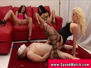 CFNM matures jerking and fucking dick free