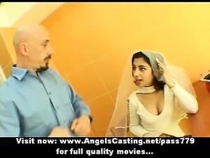 brides first honeymoon blowjob video