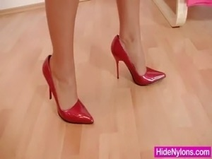 lesbians in nylons free porn movies
