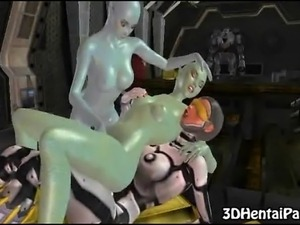 alien sex slyme erotic art