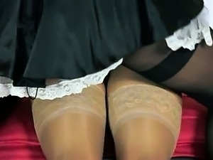 solo girls in nylons videos