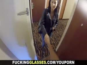 Fucking Glasses Hotel room spy glasses fuck free