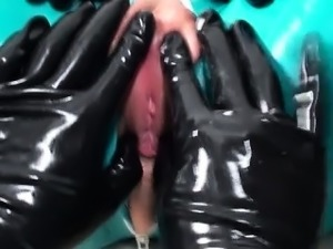 latex fetish girls asian