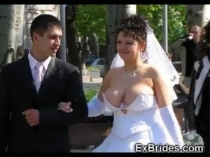 brides naked sex