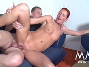 petite red head fucked