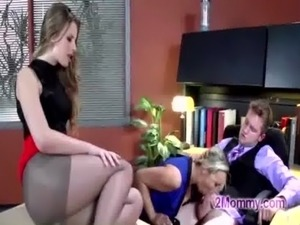 wife has sex with her boss