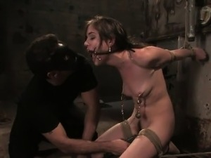 extreme painful anal young female