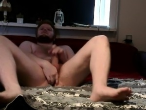 Teen jerking cock