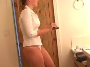 amateur wife in thong