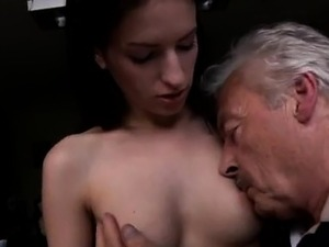 granny anal party