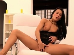 Exceptional czech centerfold lexi dona finger fucks and gets