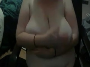 Big natural saggy tits