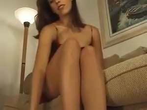 Naked girl strip tease