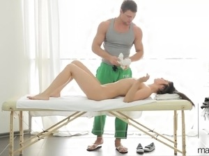 xxx asian massage video