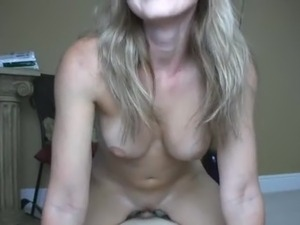 whote shaved pussy creampie